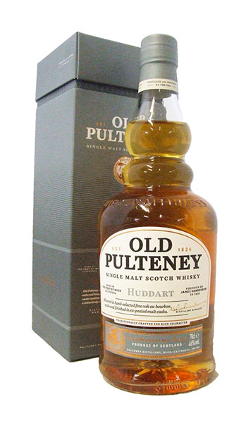 old pulteney huddart whisky bottle