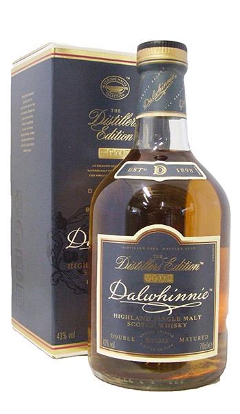 dalwhinnie distillers edition bottle