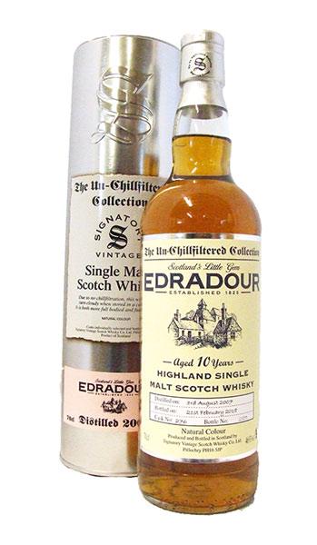 edradour 2007 signatory bottle
