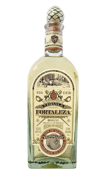 fortaleza reposado tequila bottle