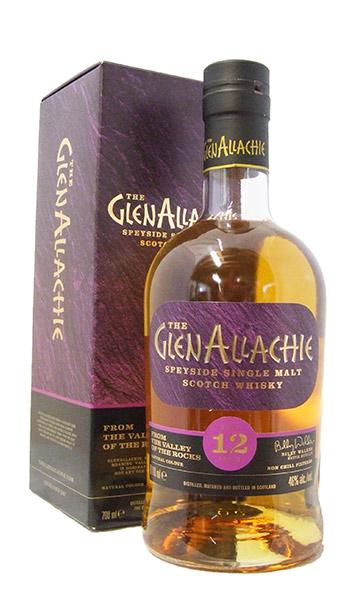 GlenAllachie 12 year bottle